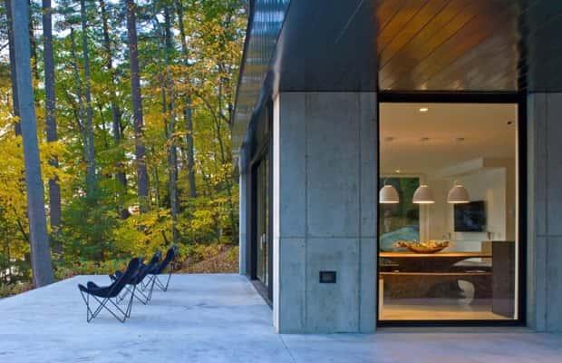 beton poli pour terrasse