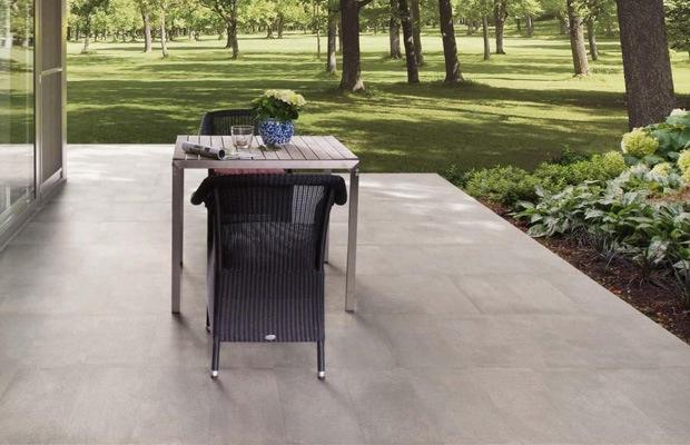 dalles de terrasse beton