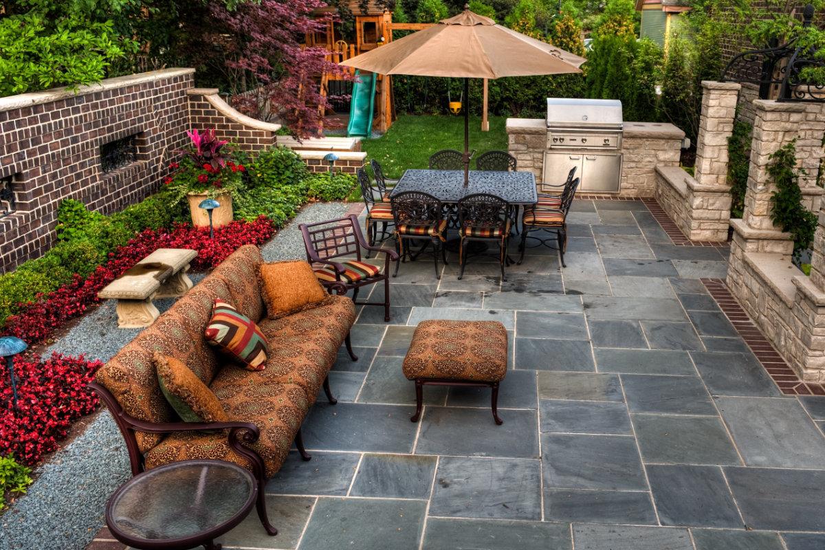 nettoyage terrasse pierre